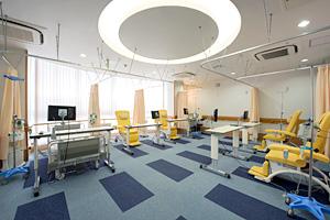 外来化学療法室の風景