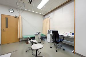 免疫栄養療法室の風景