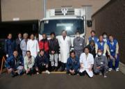 みやぎ県南中核病院への支援物資輸送の様子